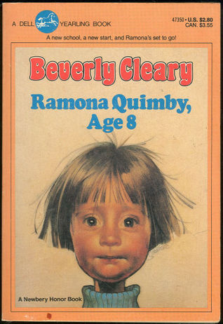 Ramona Quimby Age 8 by Beverly Cleary