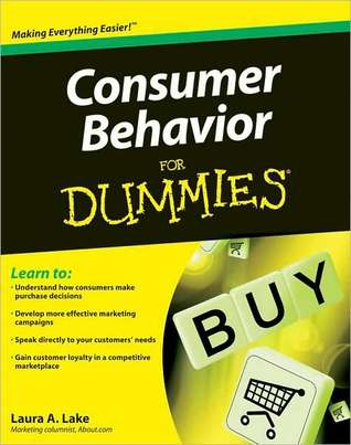 Consumer Behavior for Dummies