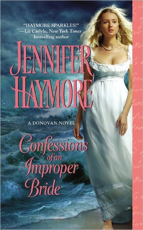 Confessions of an Improper Bride (Donovan Sisters, #1)