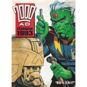 2000 A.D. Yearbook 1993 by Alan, Luke, Tony Grant