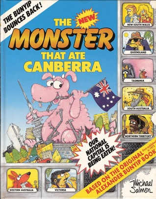 The New Monster That Ate Canberra by Michael Salmon