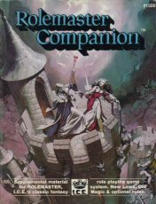 Rolemaster Companion (Rolemaster 2nd Edition, #1500) (Rolemaster 2nd Edition)