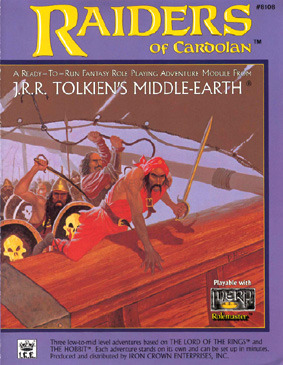 Raiders Of Cardolan (Middle Earth Role Playing/Merp)