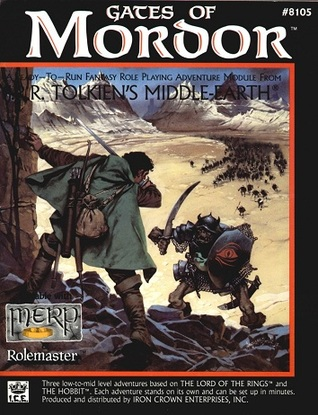 Gates of Mordor (Middle Earth Role Playing/MERP, #8105)