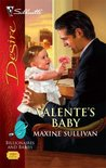 Valente's Baby (Valente, Book 3) (Billionaires and Babies, #5) (Silhouette Desire #1949)