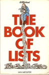 The Book of Lists by Ian Messiter