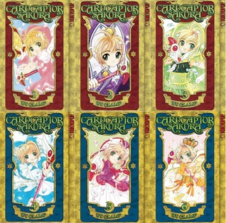 Cardcaptor Sakura, #1-6 by CLAMP