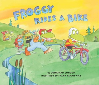 Froggy Rides a Bike