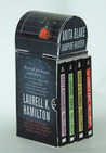 Anita Blake, Vampire Hunter Collection 1-4 by Laurell K. Hamilton