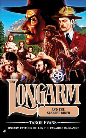 Longarm and the Scarlet Rider by Tabor Evans