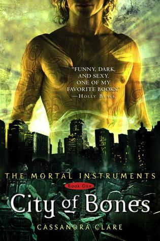book cover image of City of Bones by Cassandra Clare