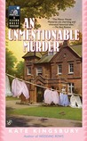 An Unmentionable Murder (Manor House Mysteries, #9)