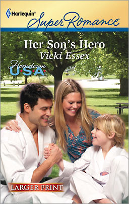 Her Son's Hero by Vicki Essex
