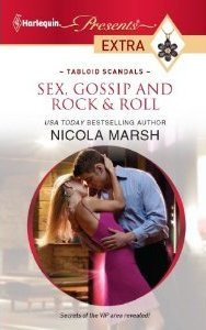 Sex, Gossip and Rock & Roll by Nicola Marsh