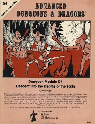 Descent Into the Depths of the Earth by Gary Gygax