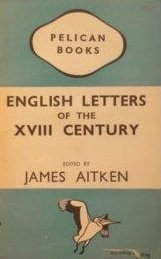 English letters of the XVIII century