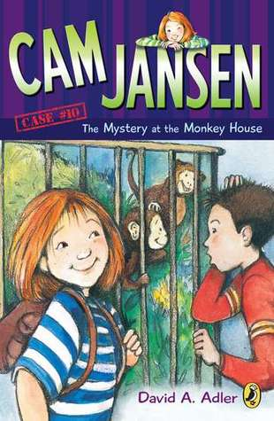 The Mystery of the Monkey House (Cam Jansen Mysteries, #10)
