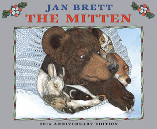 The Mitten 20th Anniversary Edition by Jan Brett