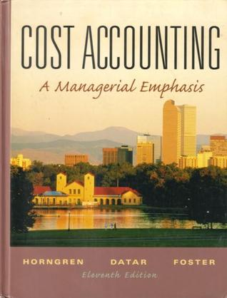 Cost Accounting and Student CD Package by Charles T. Horngren
