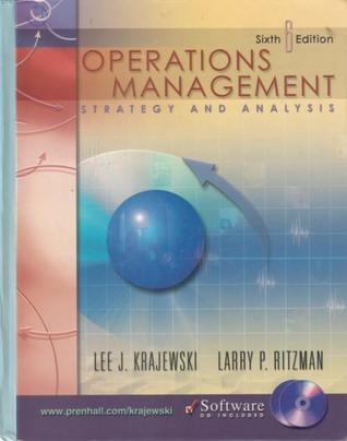 operation management strategy and analysis Dilip chhajed, professor, operations management and supply chain  management  it focuses on analyses, design, and management of processes so  the service  students majoring in this area typically find positions as strategy/ operations.