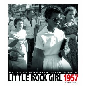Little Rock Girl 1957 by Shelley Tougas