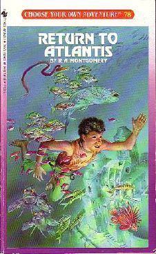 Return to Atlantis by R.A. Montgomery