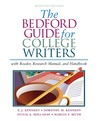 The Bedford Guide for College Writers with Reader, Research Manual, and Handbook