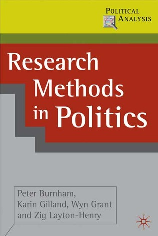 Research Methods in Politics