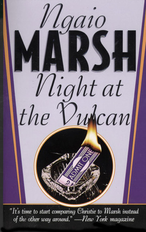 Night at the Vulcan by Ngaio Marsh