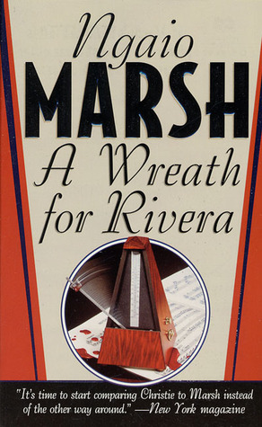 A Wreath for Rivera by Ngaio Marsh