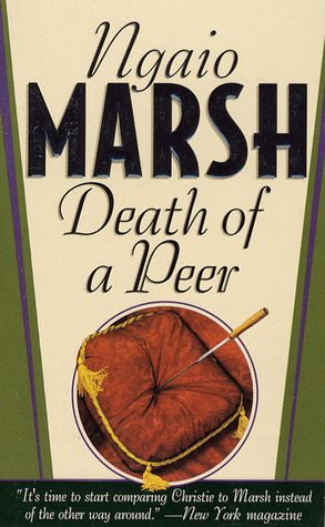 Death of a Peer by Ngaio Marsh
