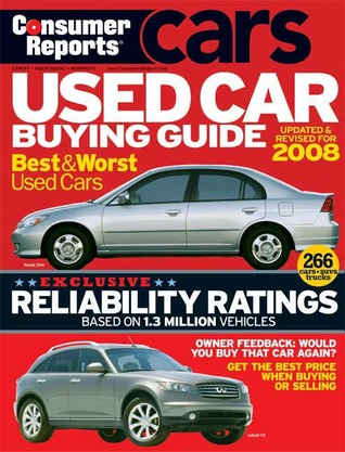 used car buying guide 2008 by consumer reports reviews discussion bookclubs lists. Black Bedroom Furniture Sets. Home Design Ideas