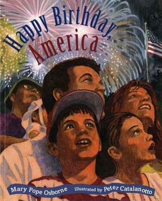Free download Happy Birthday America MOBI by Mary Pope Osborne, Peter Catalanotto