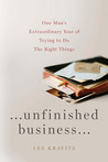 Unfinished Business by Lee Kravitz