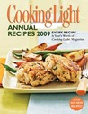 Cooking Light Annual Recipes 2009 by Cooking Light Magazine
