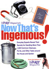 Yankee Magazine's Now That's Ingenious!: Everyday Experts Reveal Their Secrets for Handling More Than 1,200 Common Cleanups, Fix-Its, and Other Tasks Around the House and Garden