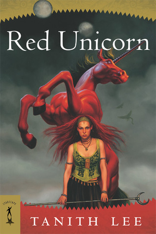 Red Unicorn by Tanith Lee