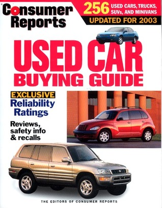Used Car Buying Guide 2003 by Consumer Reports