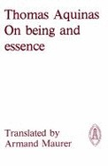 On Being and Essence by Thomas Aquinas