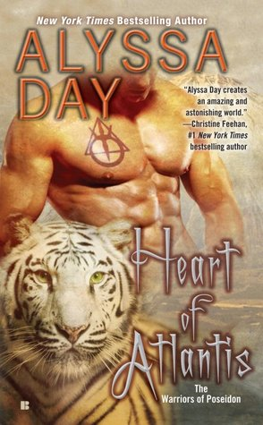 Review: Heart of Atlantis by Alyssa Day (Warriors of Poseidon #8)