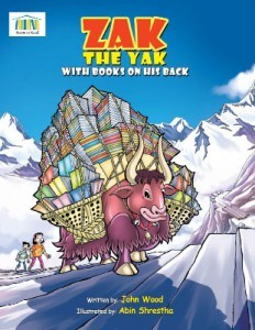 Zak The Yak With Books On His Back by John Wood