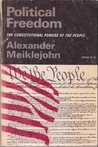 Political Freedom: The Constitutional Powers of the People (Galaxy Books)