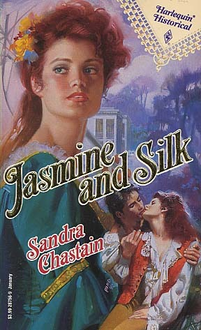 Jasmine and Silk   (Harlequin Historical #156) by Sandra Chastain