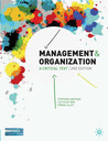 Management and Organisation: A Critical Text