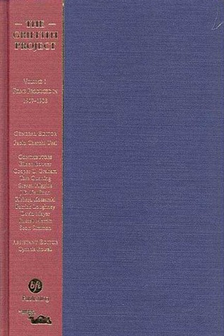The Griffith Project: v. 1: Films Produced 1907-1908