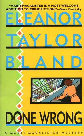 a review of the marti mcallister series by eleanor taylor bland Buy see no evil (marti macalister mysteries) reprint by eleanor taylor bland (isbn: 9780312968182) from amazon's book store everyday low prices and free delivery on eligible orders.