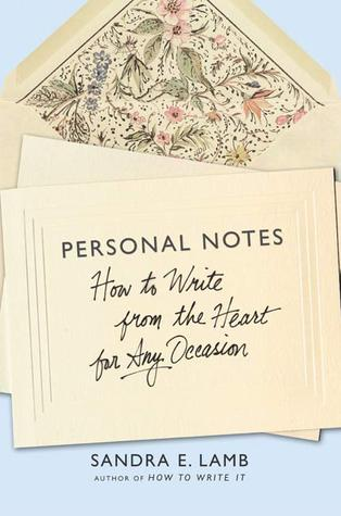 Personal Notes by Sandra E. Lamb