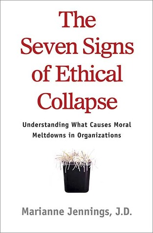 Free online download The Seven Signs of Ethical Collapse: How to Spot Moral Meltdowns in Companies... Before It's Too Late PDF