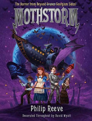 Mothstorm: The Horror from Beyond Uranus Georgium Sidus! (Larklight, #3)