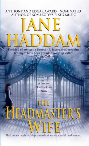 The Headmaster's Wife by Jane Haddam